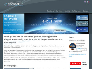 Détails : Connect-i: Sites internet, applications web, solutions de gestion de contenu